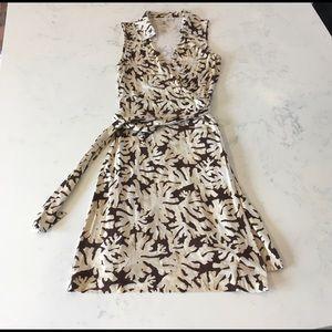Diane von Furstenberg St. Jude Coral Reef Dress-SM